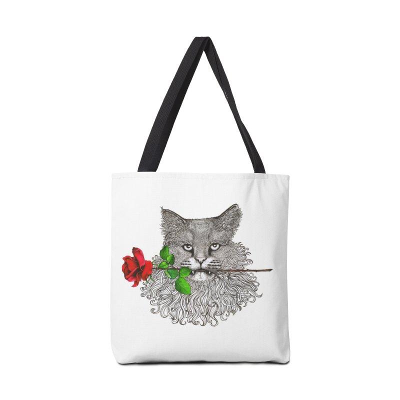 Romantic Cat Accessories Bag by cmatthesart's Artist Shop