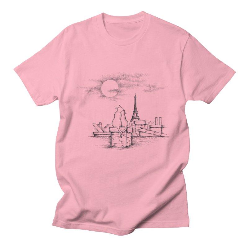 Love Cats Men's Regular T-Shirt by cmatthesart's Artist Shop