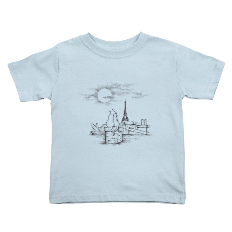 Love Cats Kids Toddler T-Shirt by cmatthesart's Artist Shop