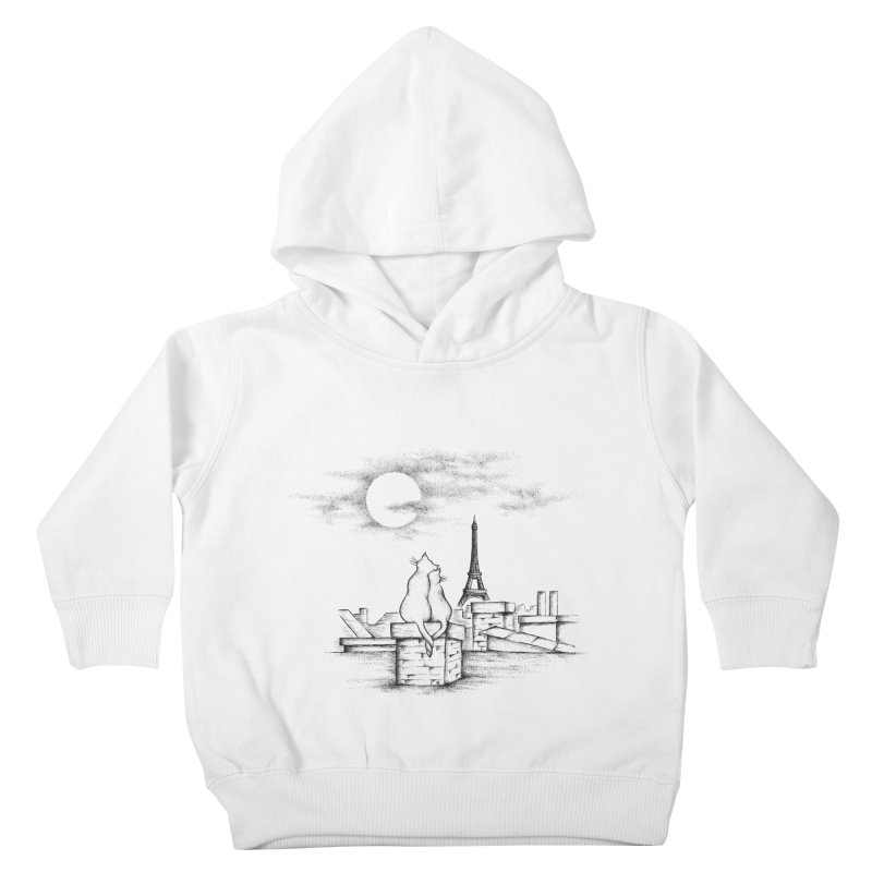 Love Cats Kids Toddler Pullover Hoody by cmatthesart's Artist Shop