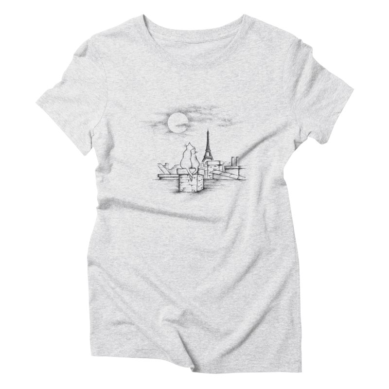 Love Cats Women's Triblend T-Shirt by cmatthesart's Artist Shop