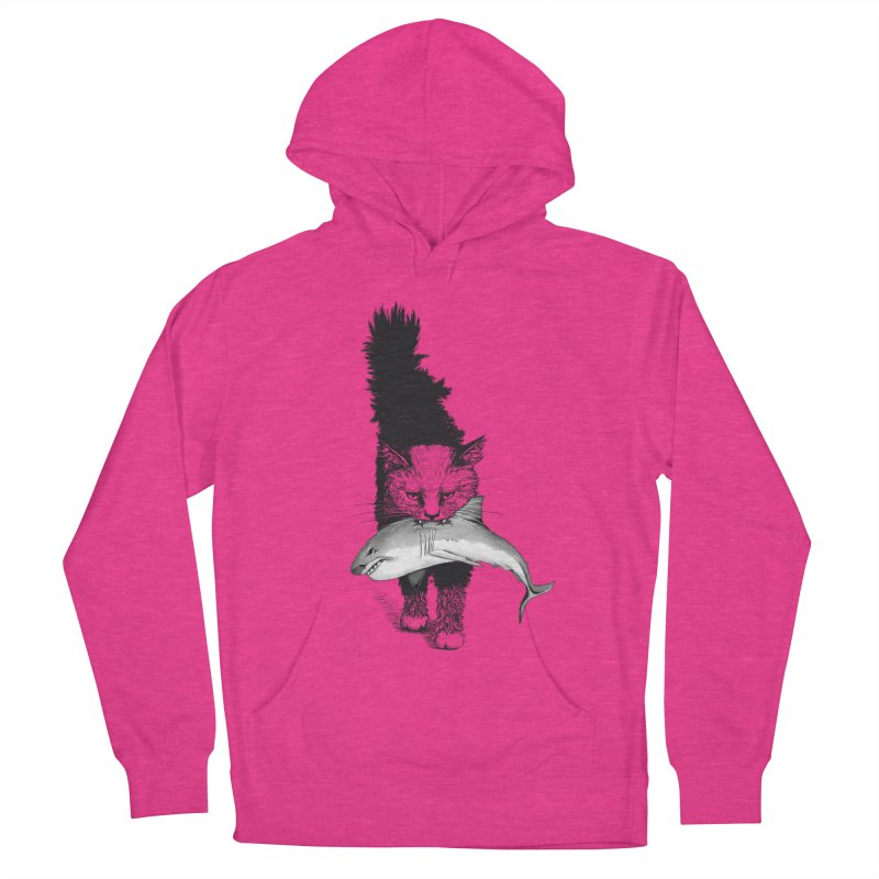 Supermoggie Women's French Terry Pullover Hoody by cmatthesart's Artist Shop