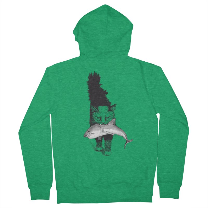 Supermoggie Men's Zip-Up Hoody by cmatthesart's Artist Shop