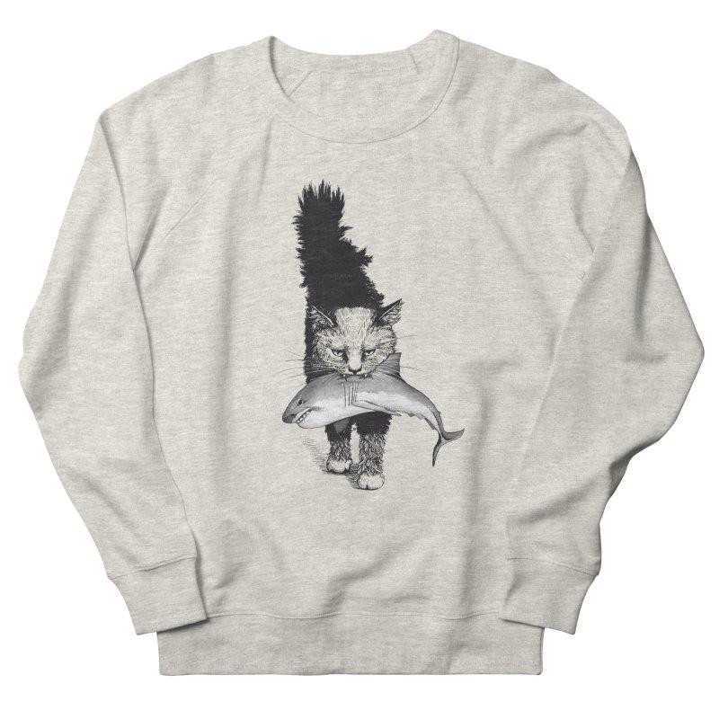 Supermoggie Men's French Terry Sweatshirt by cmatthesart's Artist Shop