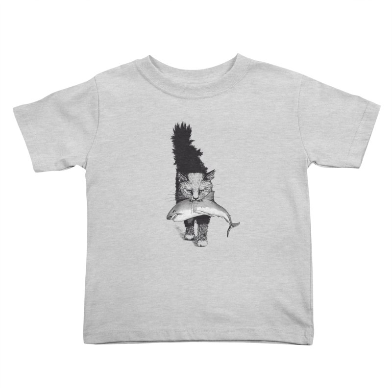 Supermoggie Kids Toddler T-Shirt by cmatthesart's Artist Shop