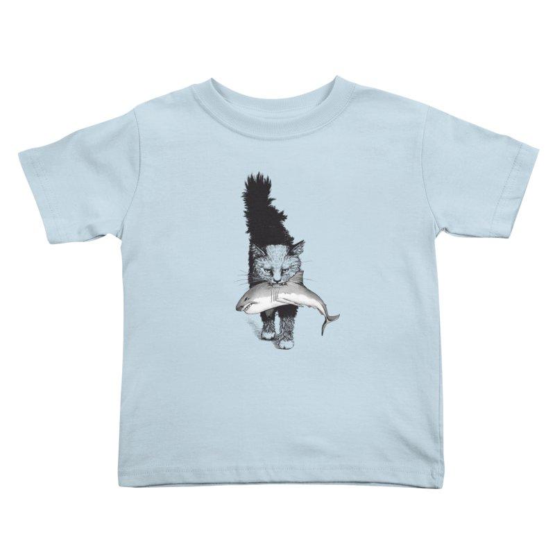Supermoggie Kids Toddler T-Shirt by cmatthesart's Artist Shop