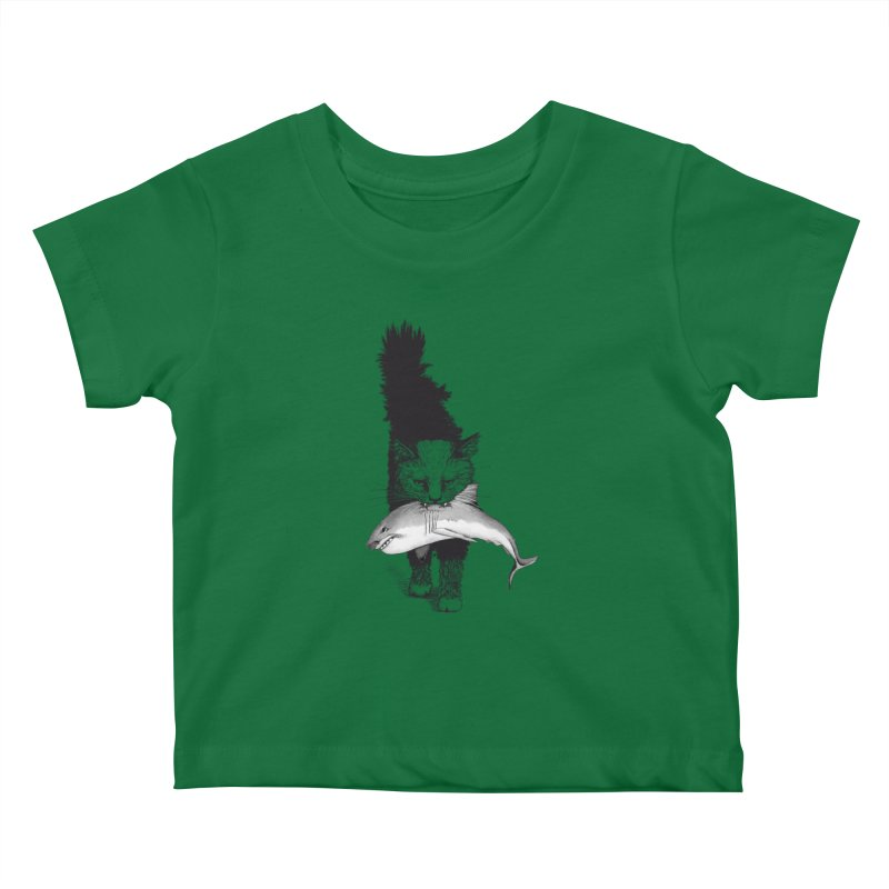 Supermoggie Kids Baby T-Shirt by cmatthesart's Artist Shop
