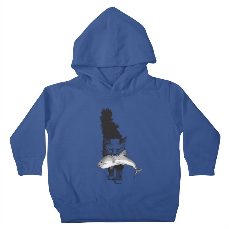 Supermoggie Kids Toddler Pullover Hoody by cmatthesart's Artist Shop