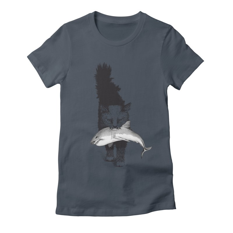 Supermoggie Women's Fitted T-Shirt by cmatthesart's Artist Shop