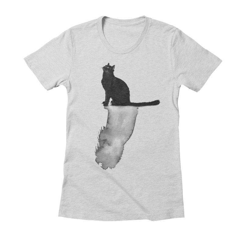 Divided Women's Fitted T-Shirt by cmatthesart's Artist Shop