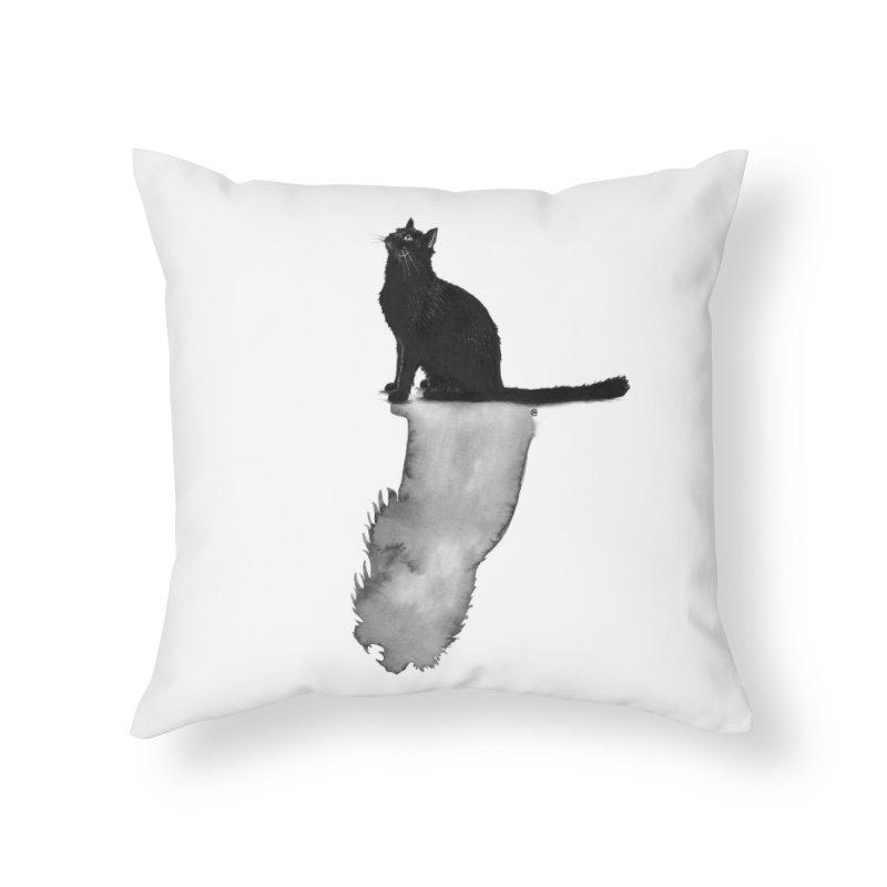Divided Home Throw Pillow by cmatthesart's Artist Shop
