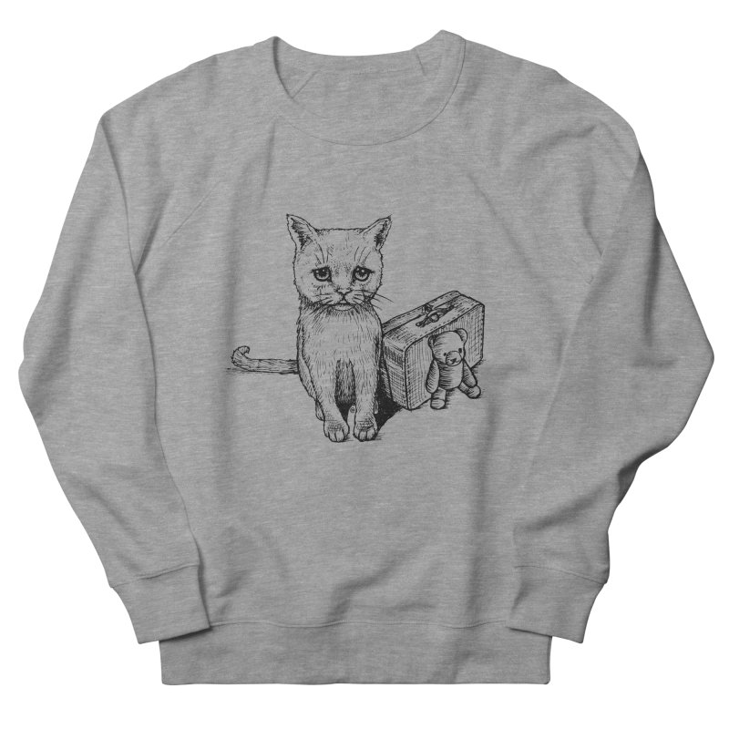 Lost Men's French Terry Sweatshirt by cmatthesart's Artist Shop