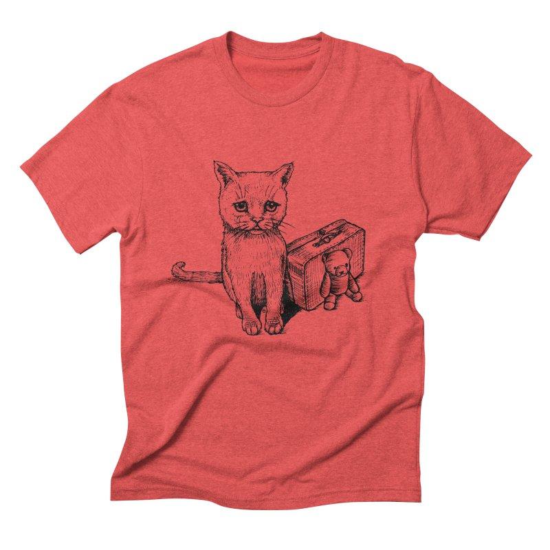 Lost Men's Triblend T-Shirt by cmatthesart's Artist Shop
