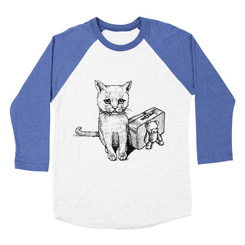 Lost Women's Baseball Triblend Longsleeve T-Shirt by cmatthesart's Artist Shop