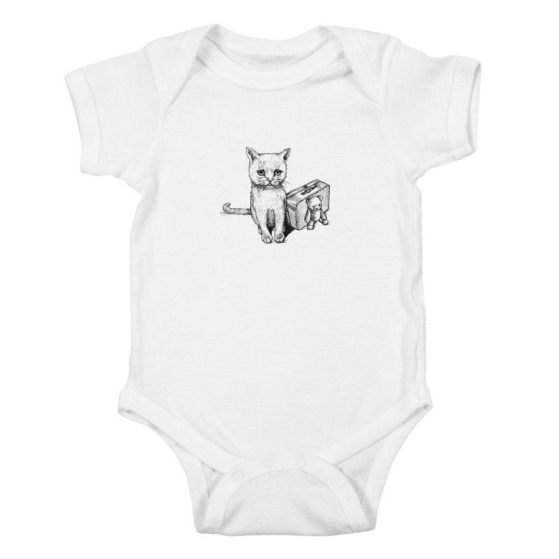 Lost Kids Baby Bodysuit by cmatthesart's Artist Shop