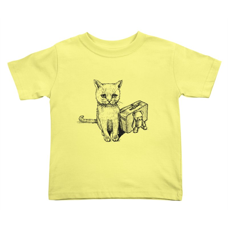 Lost Kids Toddler T-Shirt by cmatthesart's Artist Shop