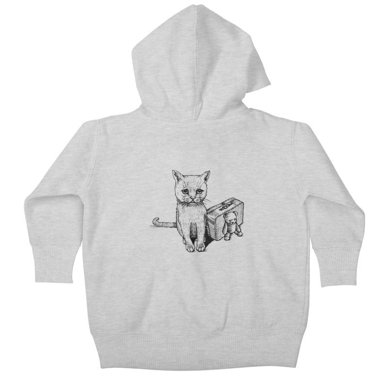 Lost Kids Baby Zip-Up Hoody by cmatthesart's Artist Shop