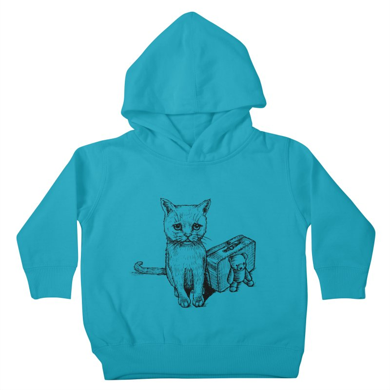 Lost Kids Toddler Pullover Hoody by cmatthesart's Artist Shop