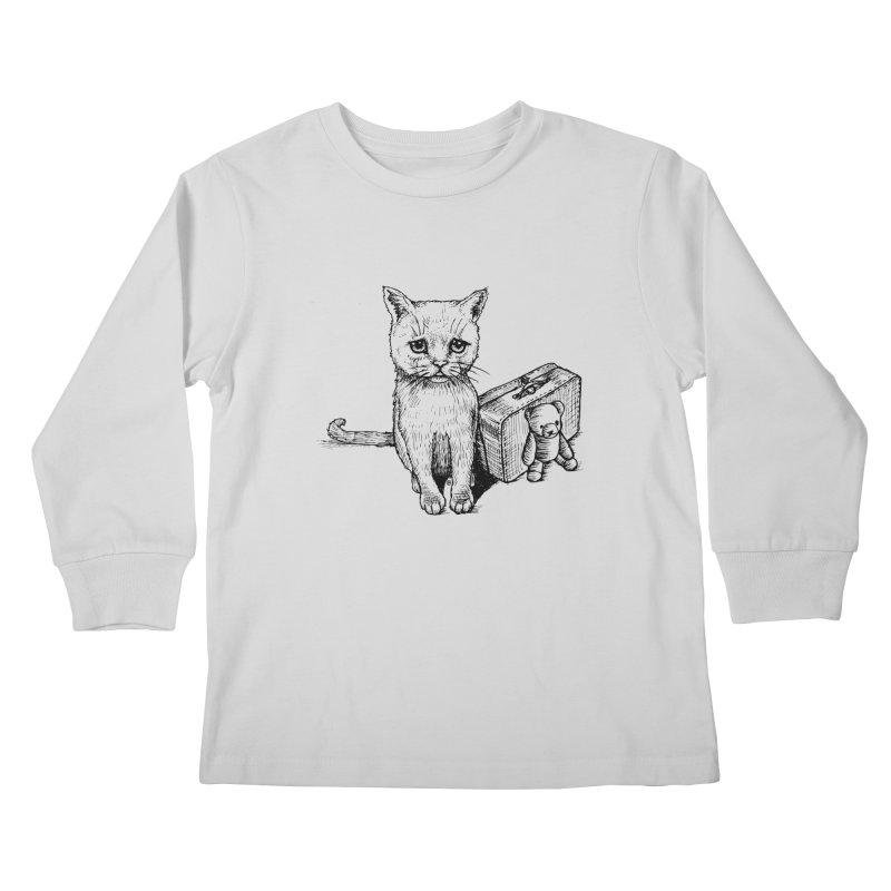 Lost Kids Longsleeve T-Shirt by cmatthesart's Artist Shop