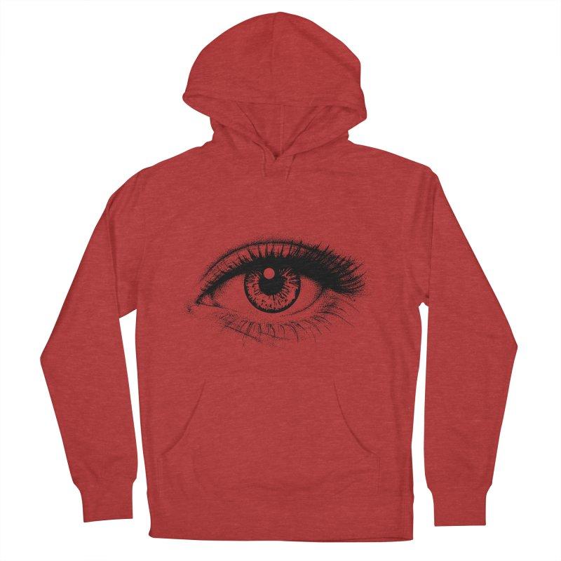 Eye Women's Pullover Hoody by cmatthesart's Artist Shop