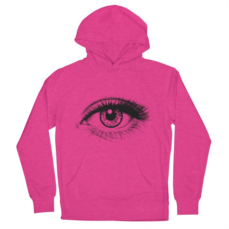 Eye Women's French Terry Pullover Hoody by cmatthesart's Artist Shop