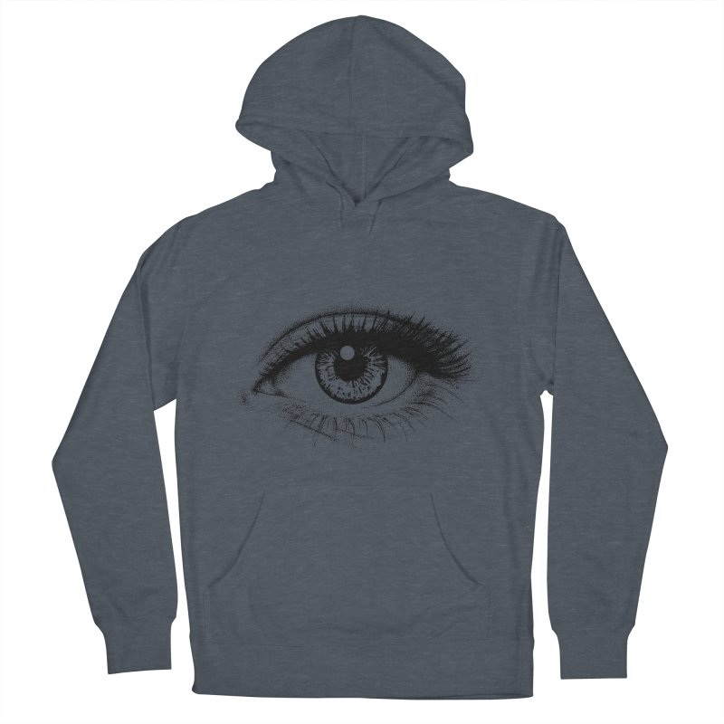 Eye Men's French Terry Pullover Hoody by cmatthesart's Artist Shop
