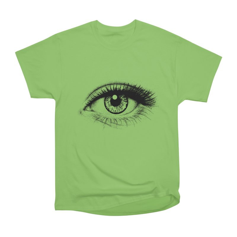 Eye Women's Heavyweight Unisex T-Shirt by cmatthesart's Artist Shop