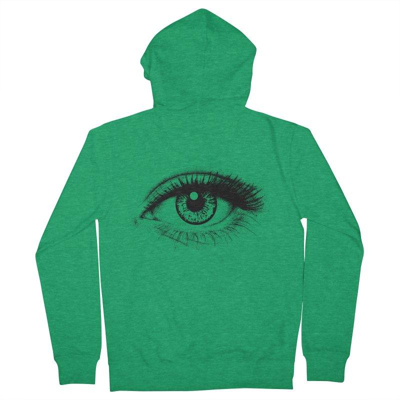 Eye Women's Zip-Up Hoody by cmatthesart's Artist Shop