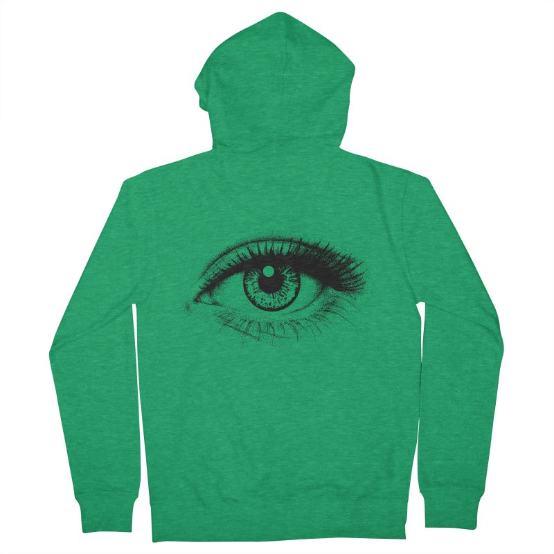 Eye Men's Zip-Up Hoody by cmatthesart's Artist Shop