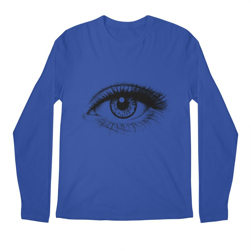 Eye Men's Longsleeve T-Shirt by cmatthesart's Artist Shop