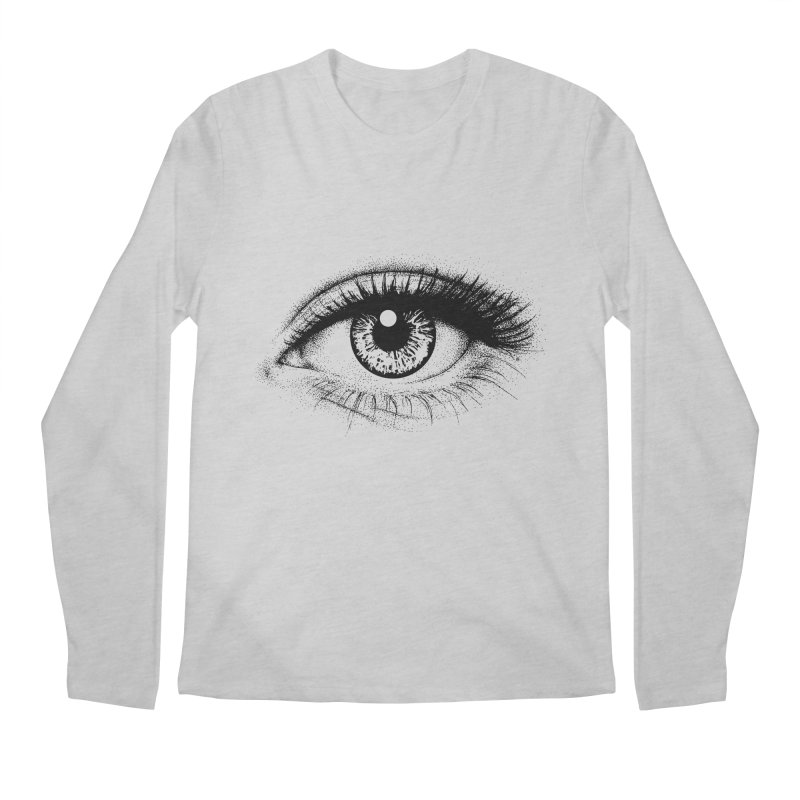 Eye Men's Regular Longsleeve T-Shirt by cmatthesart's Artist Shop