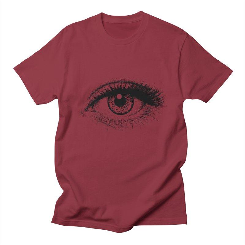 Eye Women's Regular Unisex T-Shirt by cmatthesart's Artist Shop