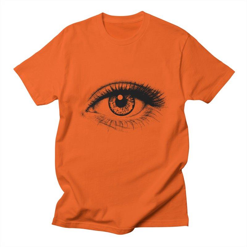 Eye Men's Regular T-Shirt by cmatthesart's Artist Shop