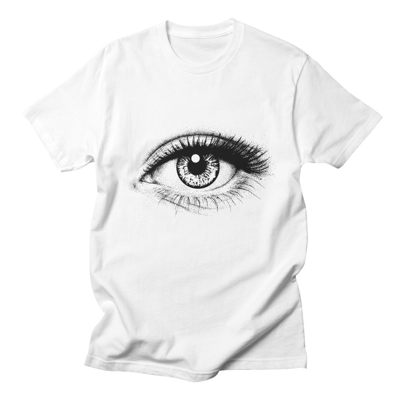 Eye Men's Regular T-Shirt by cmatthesart's Artist Shop