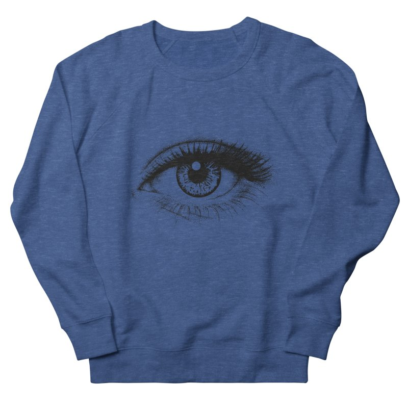 Eye Men's French Terry Sweatshirt by cmatthesart's Artist Shop