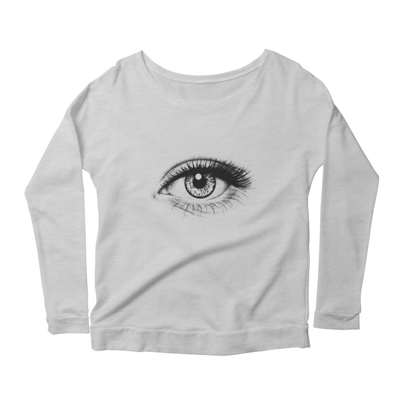 Eye Women's Scoop Neck Longsleeve T-Shirt by cmatthesart's Artist Shop