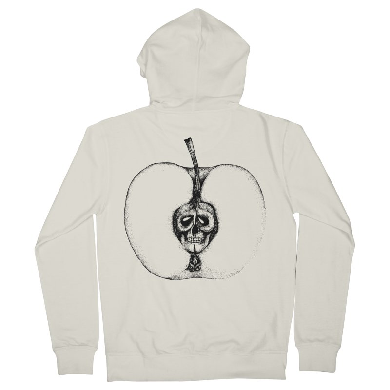 Poison Men's French Terry Zip-Up Hoody by cmatthesart's Artist Shop