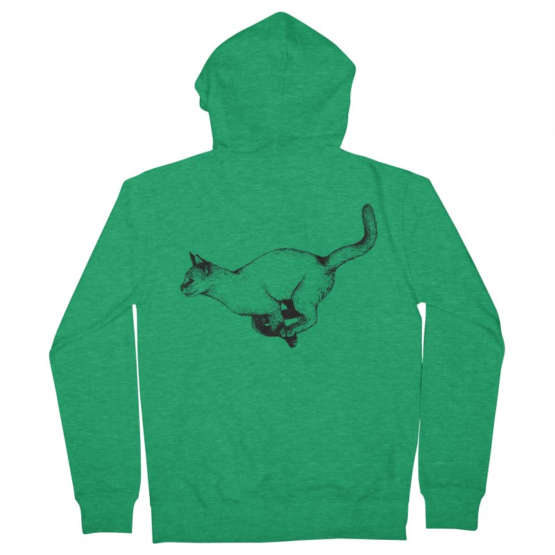 Swift Men's Zip-Up Hoody by cmatthesart's Artist Shop