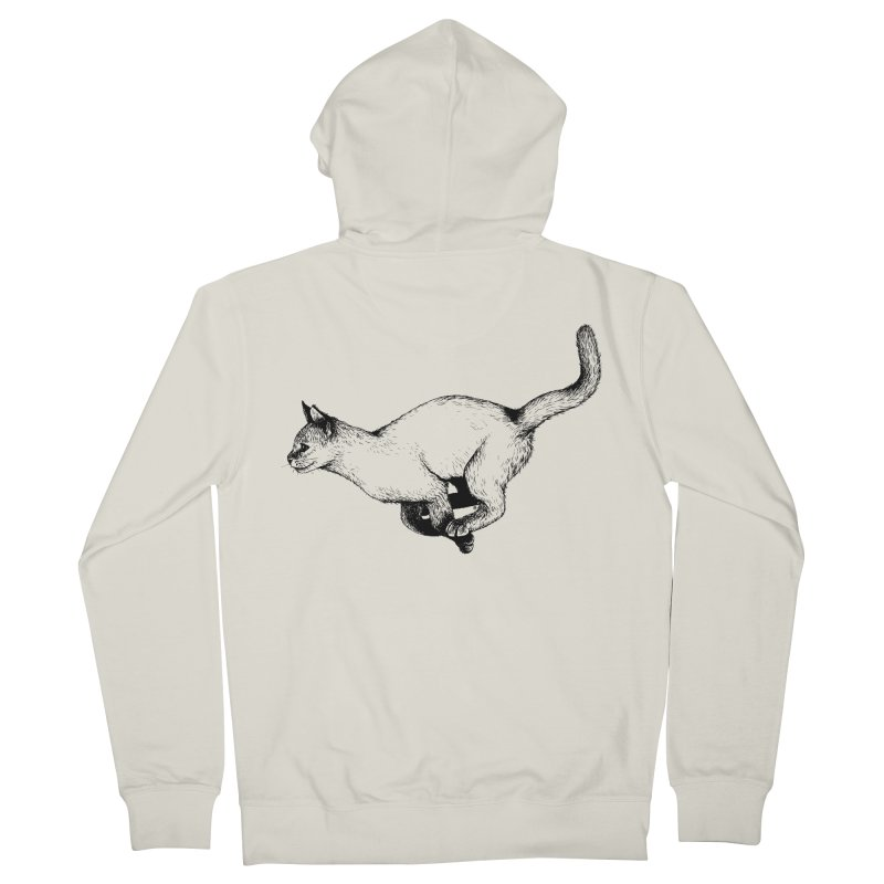Swift Men's French Terry Zip-Up Hoody by cmatthesart's Artist Shop