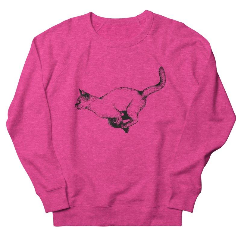 Swift Women's French Terry Sweatshirt by cmatthesart's Artist Shop
