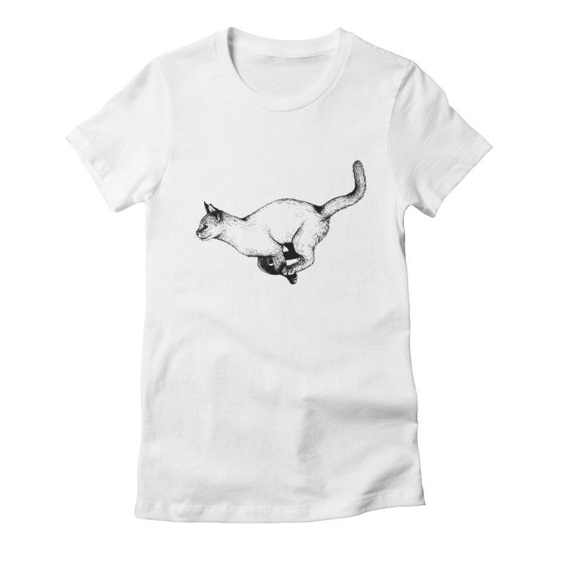 Swift Women's Fitted T-Shirt by cmatthesart's Artist Shop
