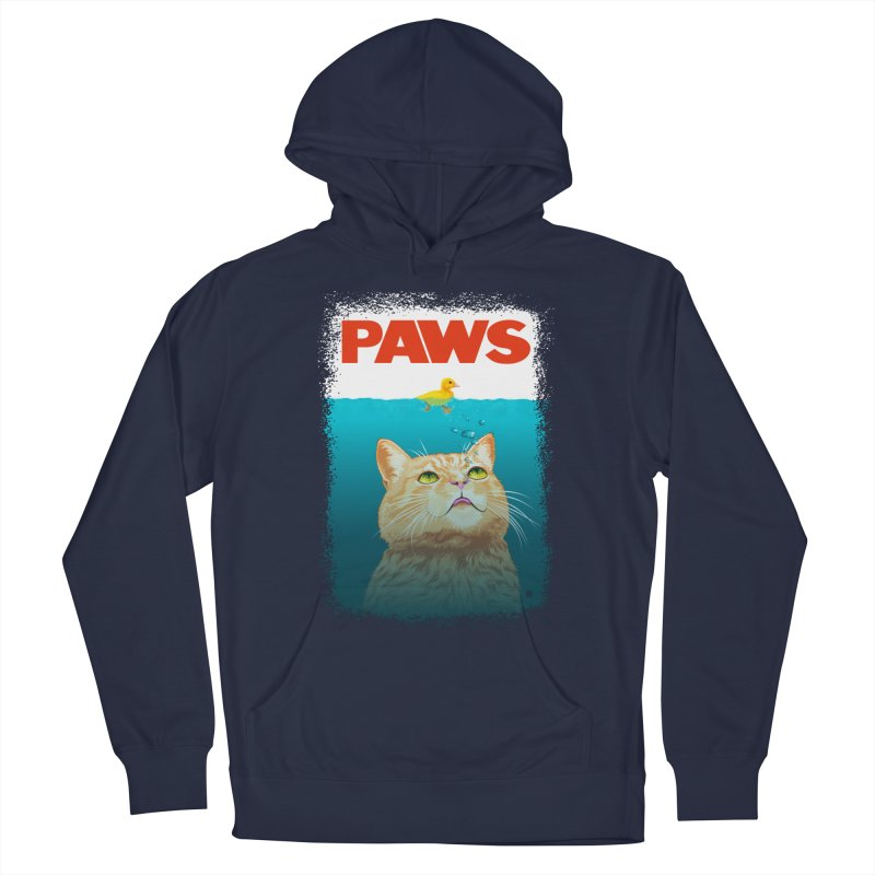 Paws! Men's Pullover Hoody by cmatthesart's Artist Shop