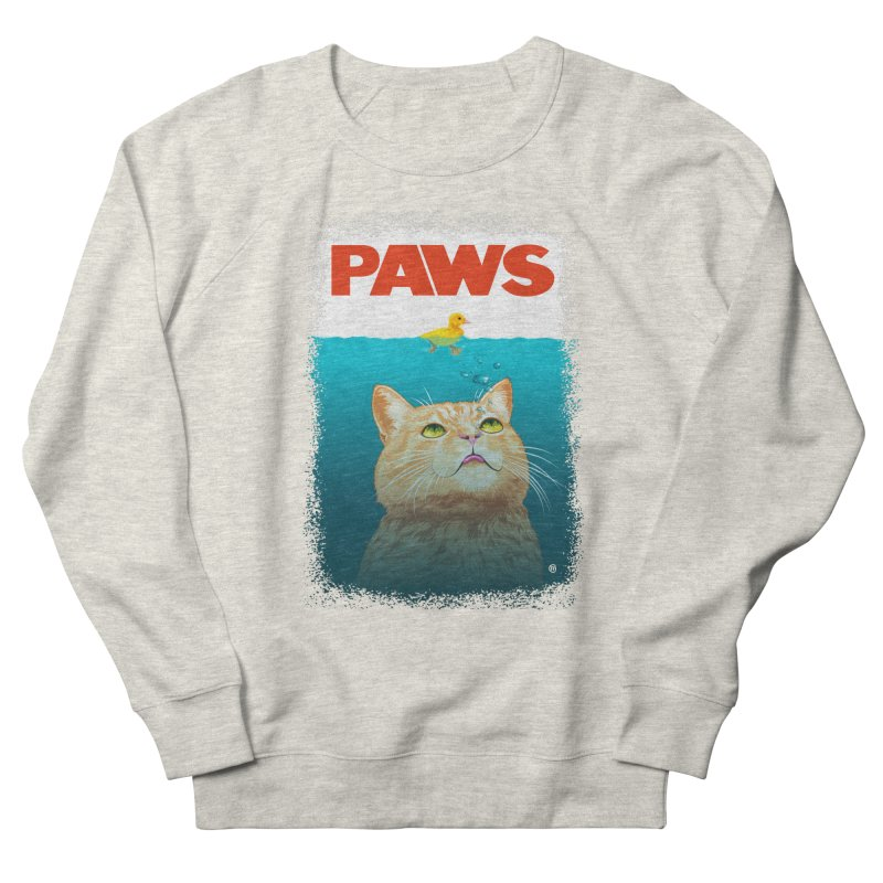 Paws! Women's Sweatshirt by cmatthesart's Artist Shop