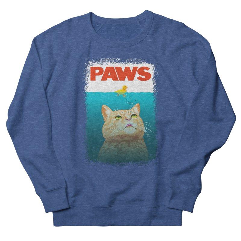 Paws! Men's Sweatshirt by cmatthesart's Artist Shop