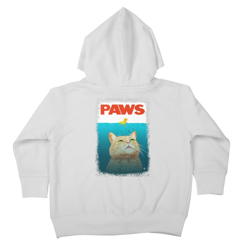 Paws! Kids Toddler Zip-Up Hoody by cmatthesart's Artist Shop