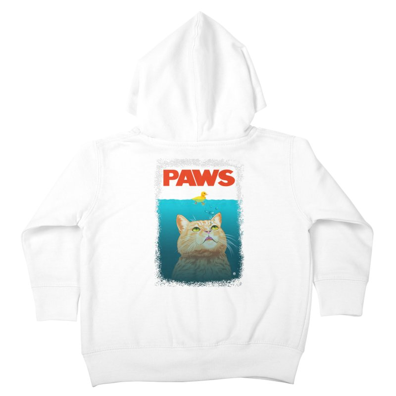 Paws! Kids Toddler Zip-Up Hoody by cmatthesart's Artist Shop