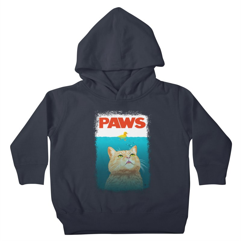 Paws! Kids Toddler Pullover Hoody by cmatthesart's Artist Shop