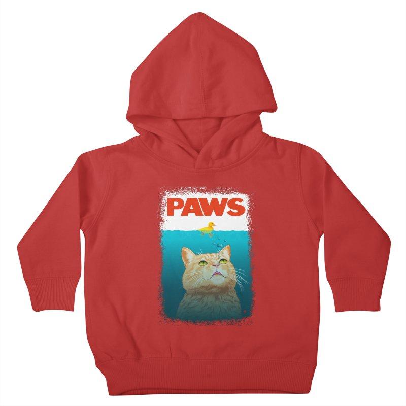 Paws! Kids Toddler Pullover Hoody by cmatthesart's Artist Shop