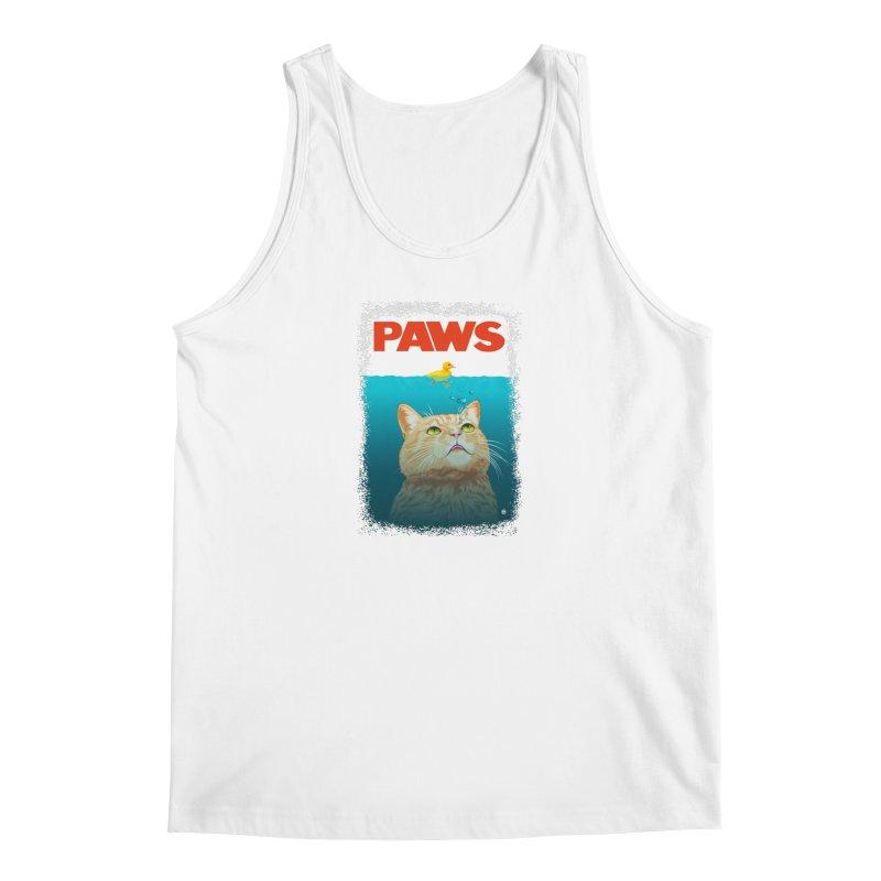 Paws! Men's Tank by cmatthesart's Artist Shop