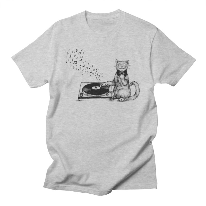 Music Master Men's T-Shirt by cmatthesart's Artist Shop